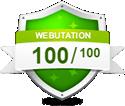100% Goede Web Reputatie